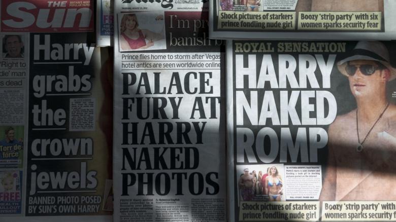 Prince Harry tabloid