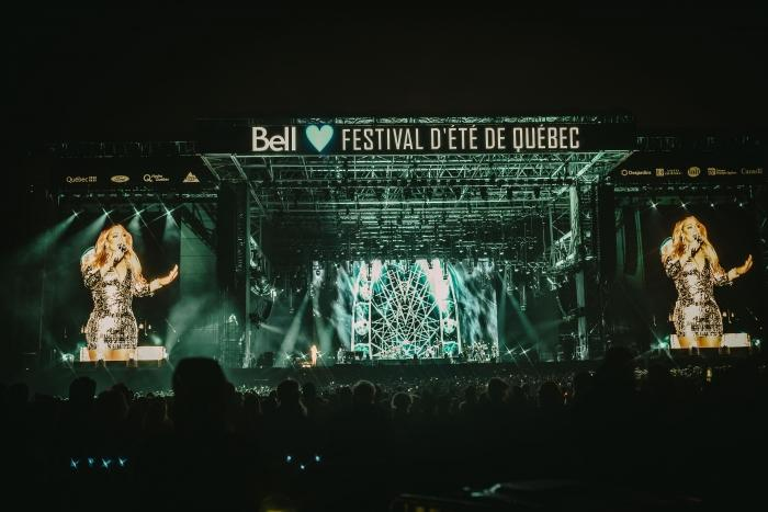 Mariah Carey at the Festival d'été de Québec