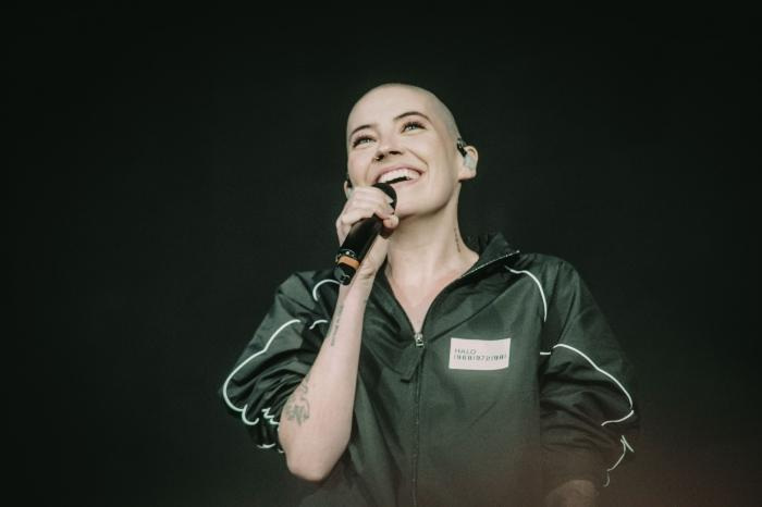Bishop Briggs on the Bell Stage of the Quebec Summer Festival