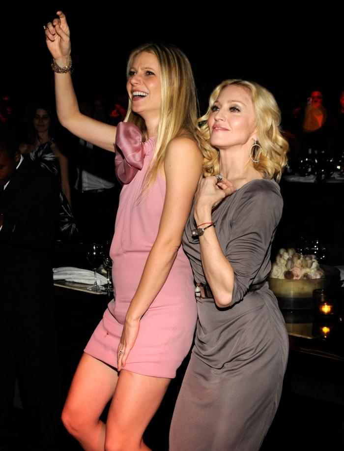 Madonna and Gwyneth Paltrow