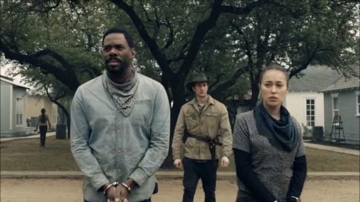 Victor and Alicia in season 6