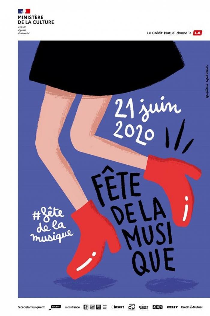 Music Festival Poster - @FetedelaMusique