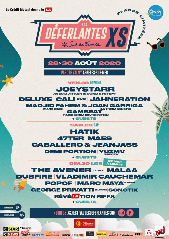 The festival line-up