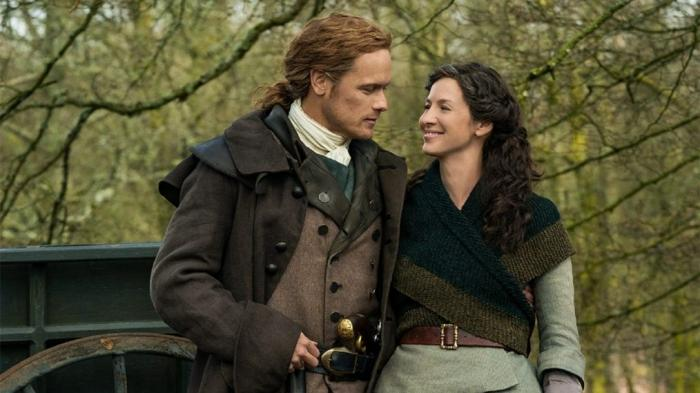 Claire and Jamie in season 5