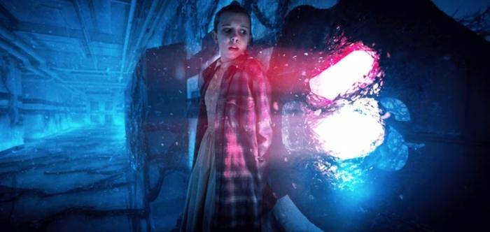The Upside Down in Stranger Things