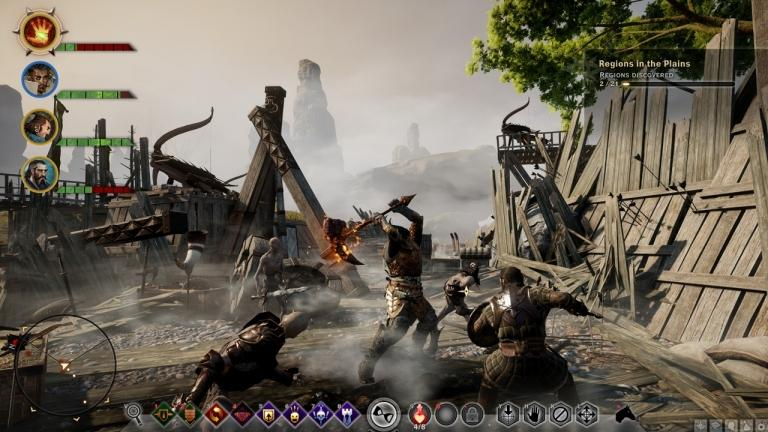 Dragon Age Inquisition, one of the most repetitive open worlds of recent years