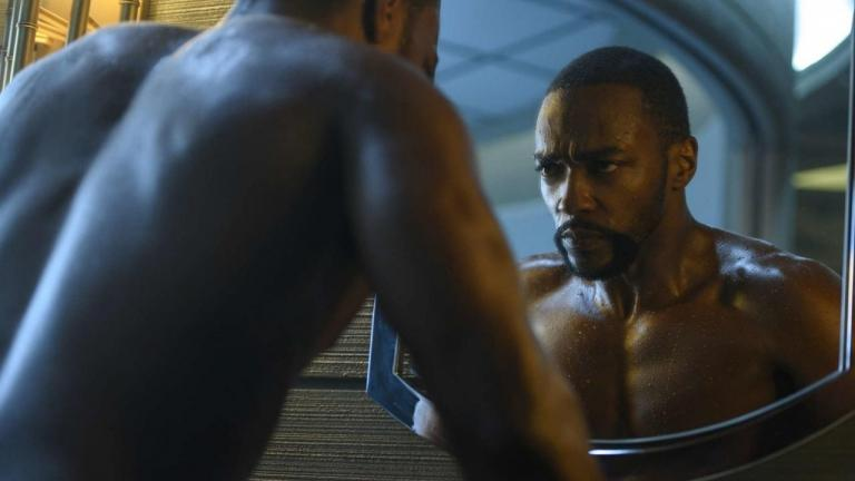 Anthony Mackie in season 2 of Altered Carbon.