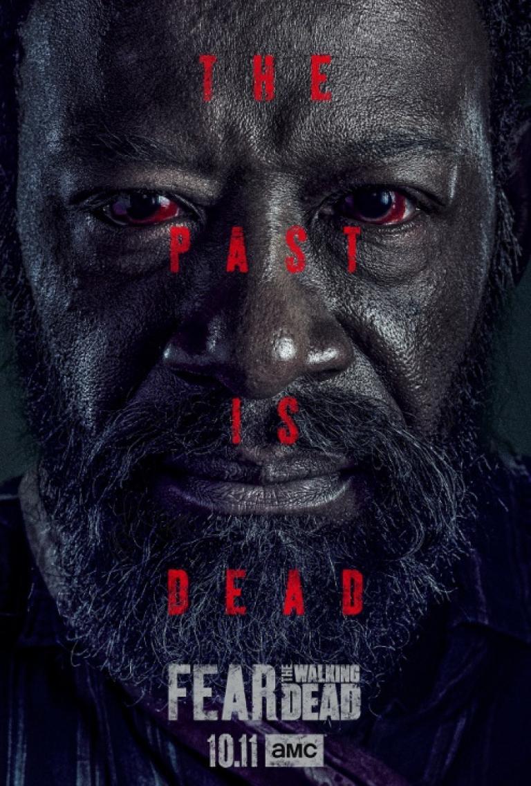 Morgan in season 6