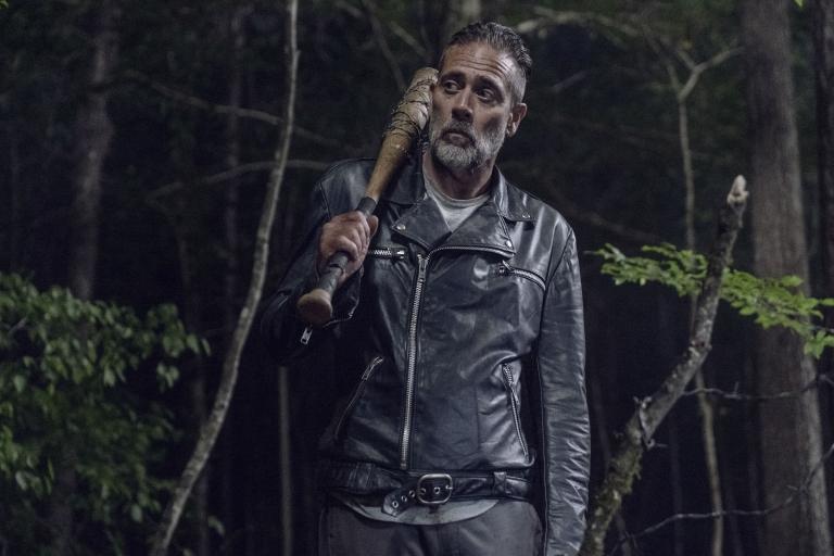 Negan in The Walking Dead series