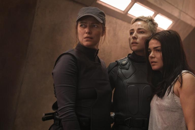 Diyoza with Hope and Octavia