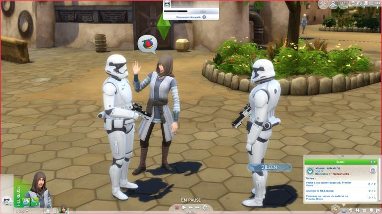 Crony mission with the stormtroopers
