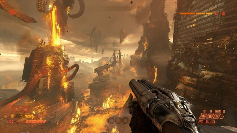 Doom, one of the games regularly accused of being too violent