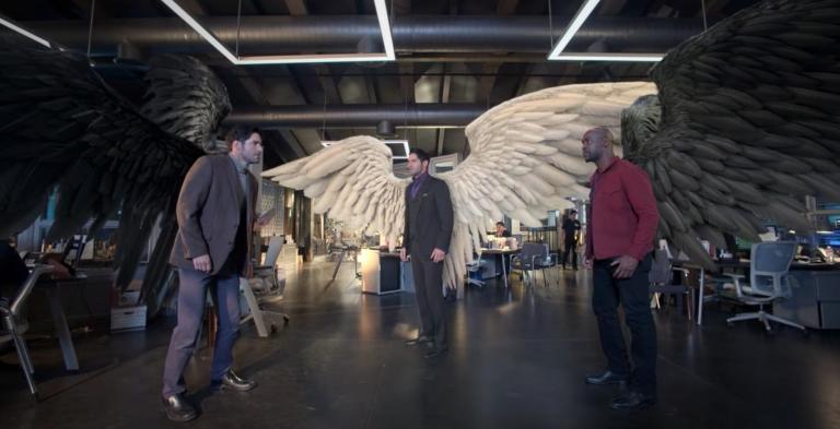Michael, Lucifer and Amenadiel
