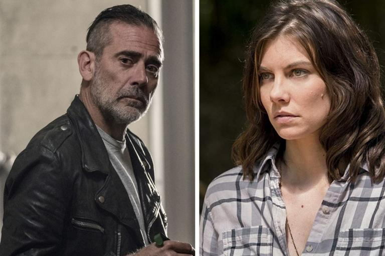 Negan and Maggie