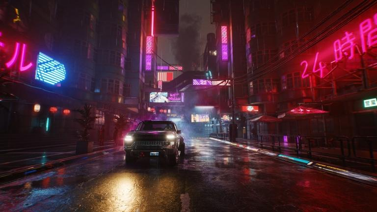 Preview of Night City