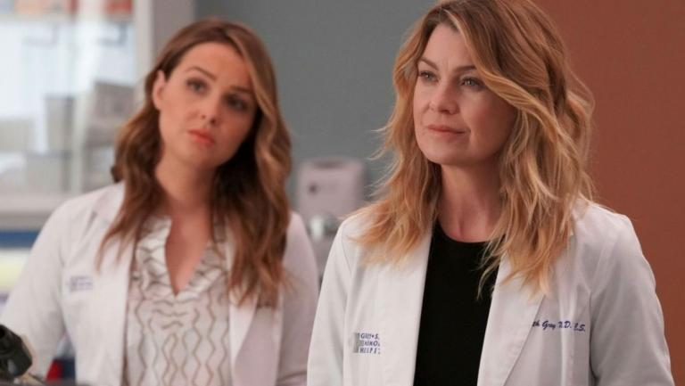 Jo and Meredith
