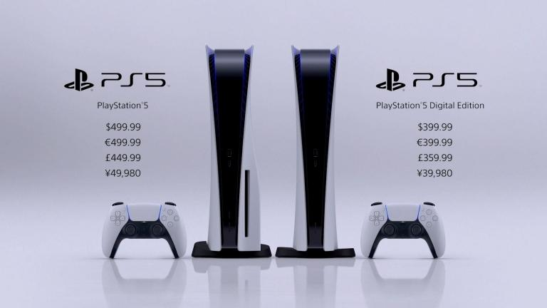The price of consoles
