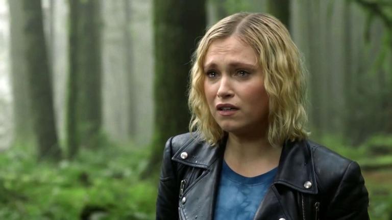 Clarke announces Bellamy's death