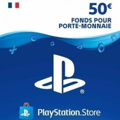 PSN gift card 50 €