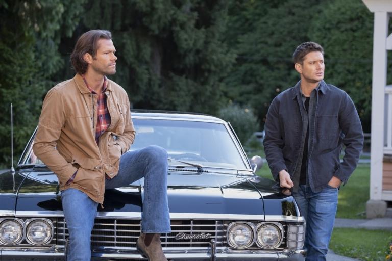 Sam (Jared Padalecki) and Dean (Jensen Ackles) in the Series Finale of Supernatural.