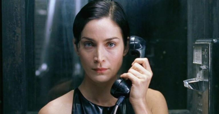 Carrie-Anne Moss as Trinity.