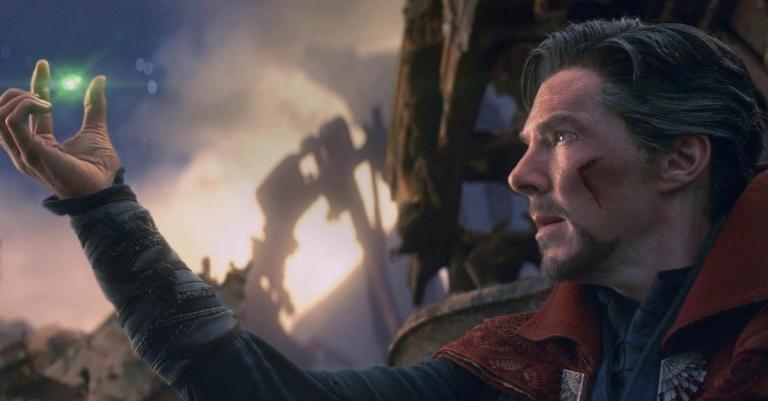 Doctor Strange in Avengers: Infinity War.