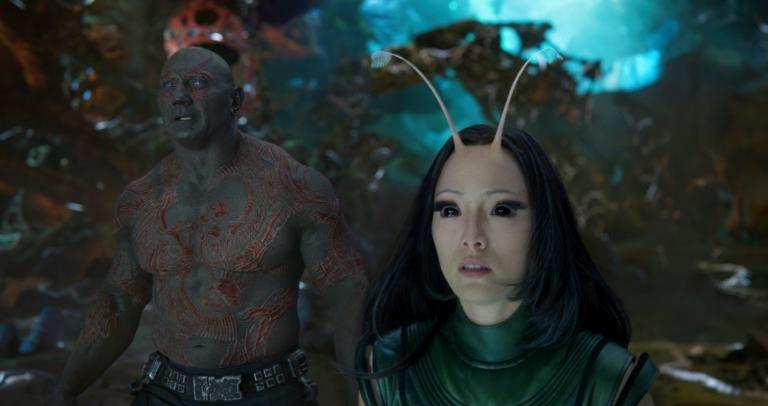 Mantis and Drax.