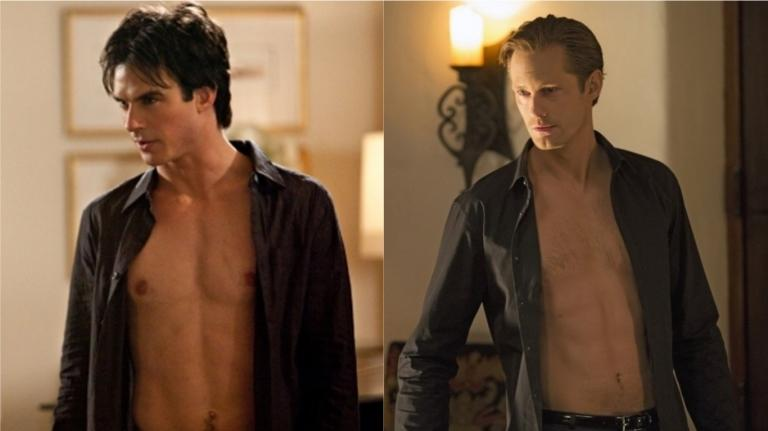 Damon Salvatore & Eric Northman