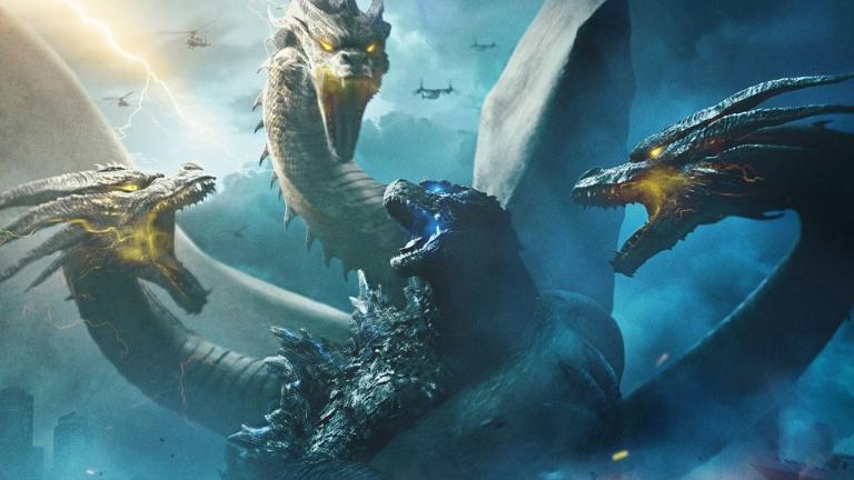 Godzilla faces off against Ghidorah in Godzilla 2: King of the Monsters.