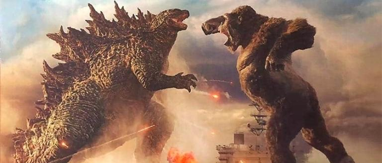 Godzilla vs.  Kong.
