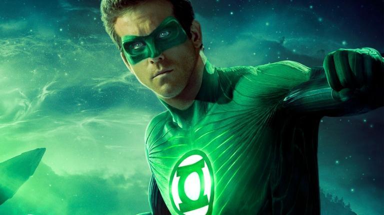 Ryan Reynolds in Green Lantern.