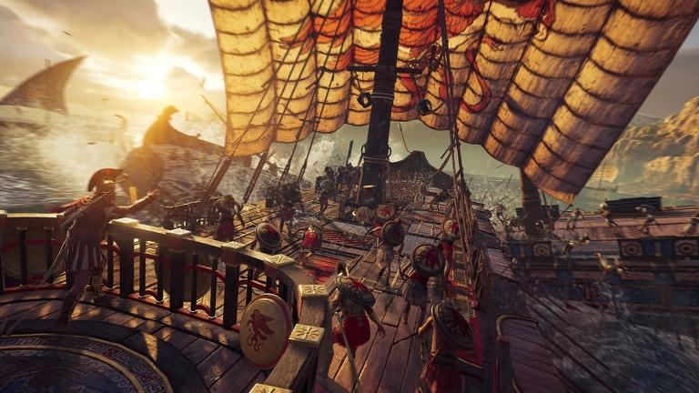 Imagine this ship full of Cyclops in Assassin's Creed Odyssey