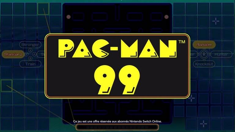 Pac-Man 99 is coming to Nintendo Switch