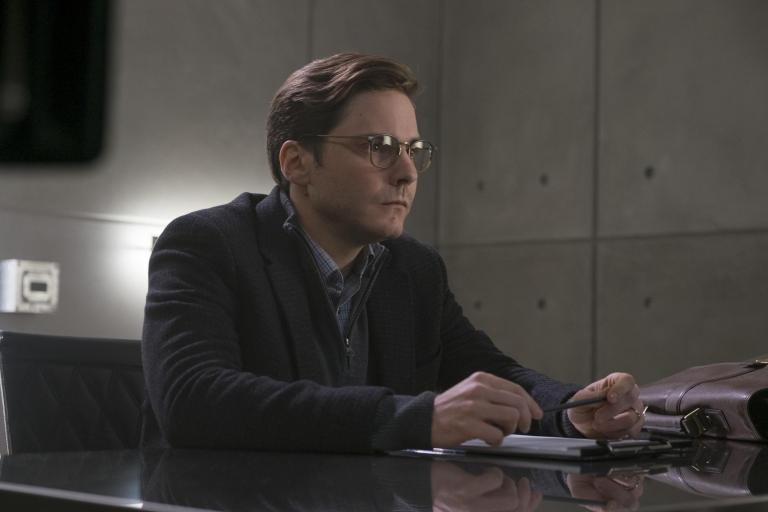 Daniel Brühl in Captain America: Civil War.
