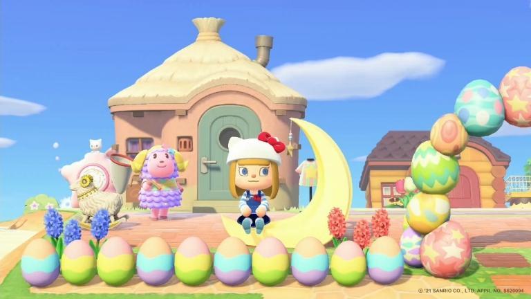 Nintendo's dream island in collaboration with Sanrio