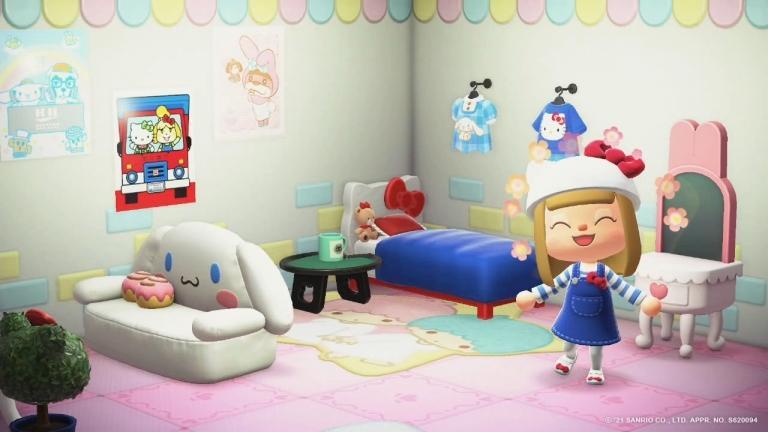 Sanrio in the spotlight in Animal Crossing: New Horizons