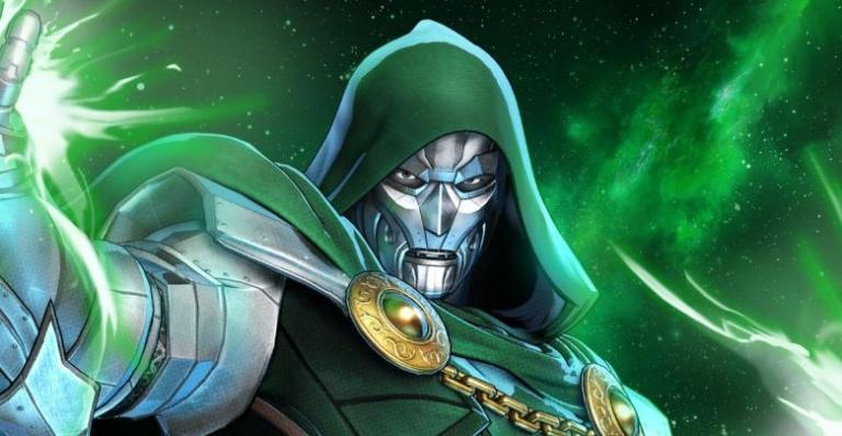 Doctor Doom in the Marvel comics.