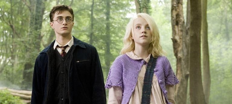 Harry Potter and Luna Lovegood.