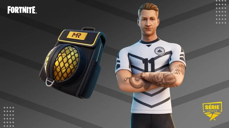 The Marco Reus skin will be accompanied by the Survival Kit back accessory and the Marcinho emote