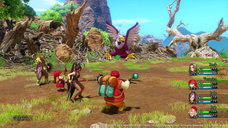Dragon Quest XI, his last little masterpiece