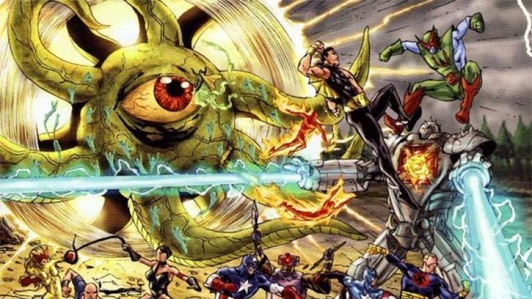 Shuma-Gorath in the Marvel comics.