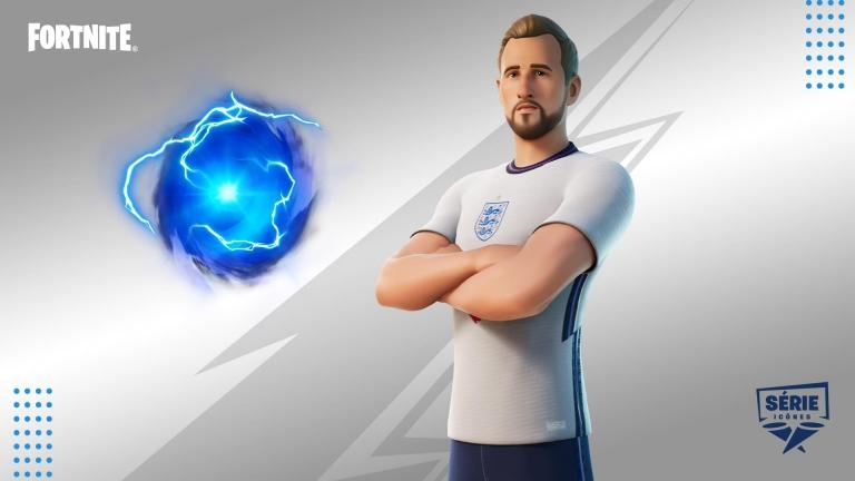 Harry Kane skin will come with Kane's Hurricane back accessory and Sweet Victory emote