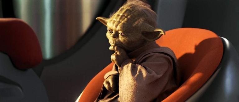 Yoda in the Star Wars Prelogy.