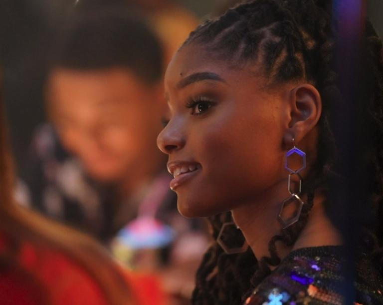 Halle Bailey who will soon play Ariel
