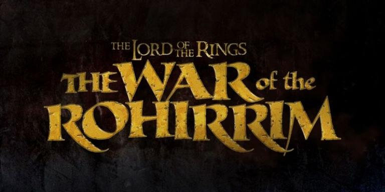 The Lord of the Rings: The War of the Rohirrim logo.