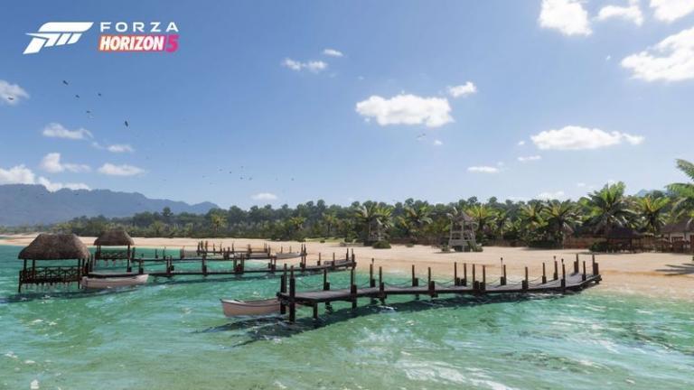 Tropical Coast of Forza Horizon 5