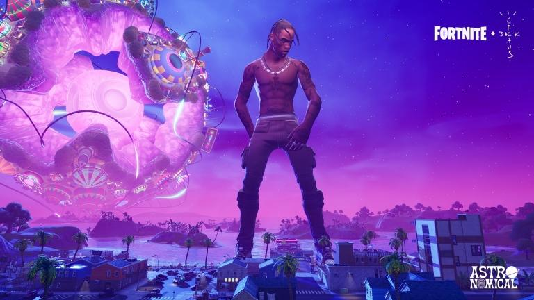 More than 27 million players attended Travis Scott's virtual concert