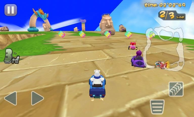 Mole Kart is a plunder from Mario Kart