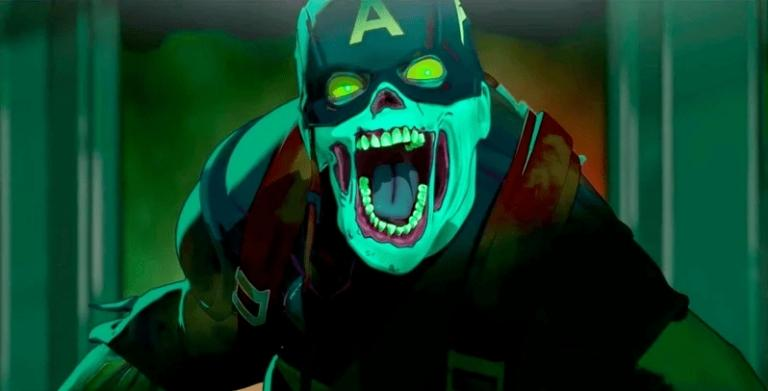 Captain America in zombie mode?  Welcome to What If ...?  !