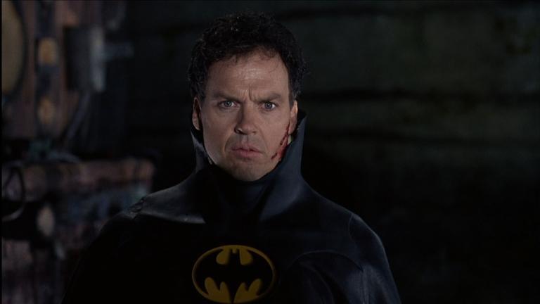 Michael Keaton aka Bruce Wayne in Batman (1989)